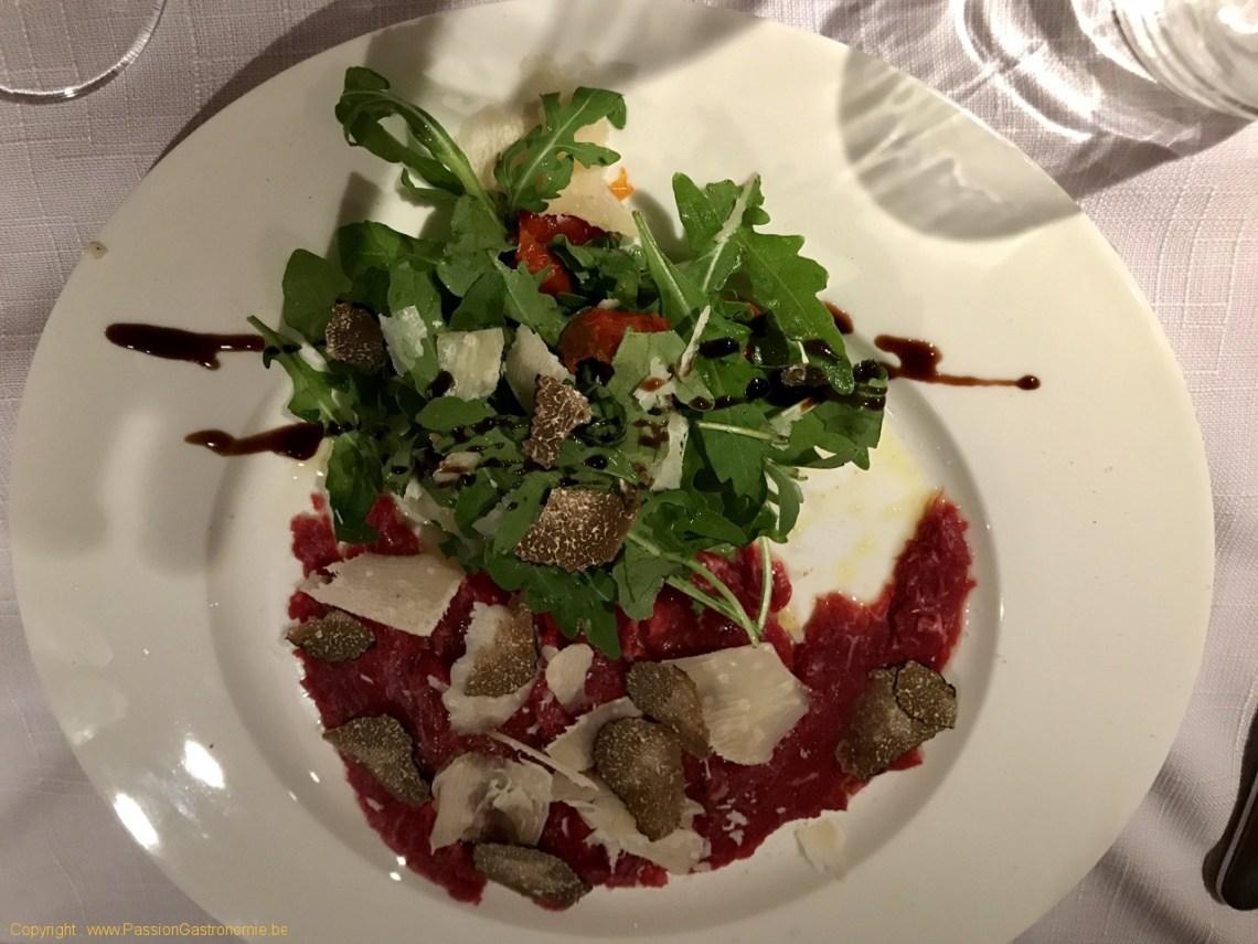 Restaurant La Malterie - Carpaccio de boeuf
