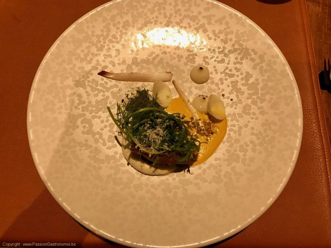 Restaurant L'Artiste à Falaen - Ris de veau