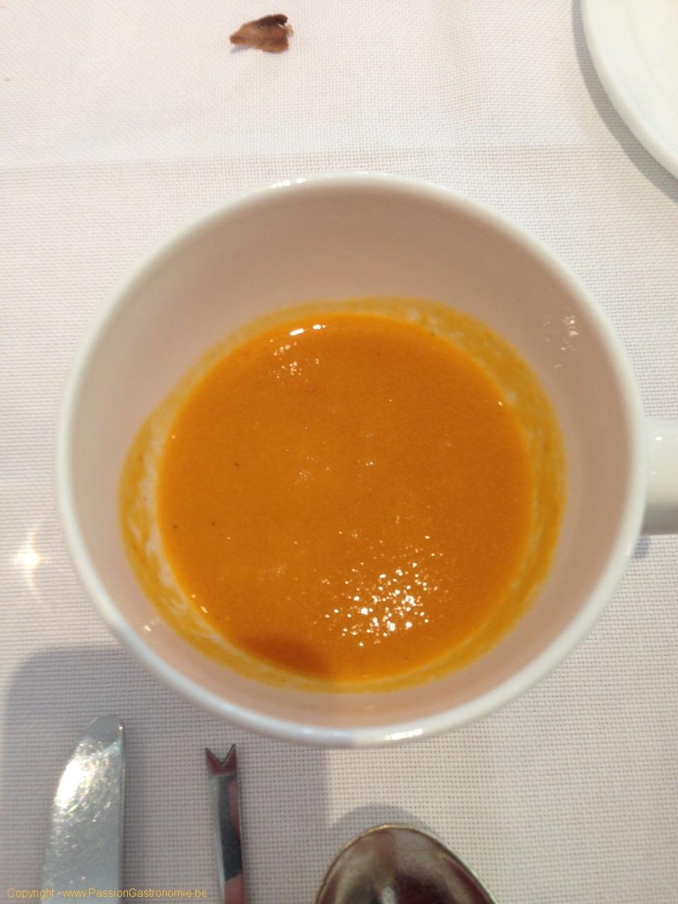 Restaurant Le Gril aux herbes d'Evan - Ma soupe de poissons