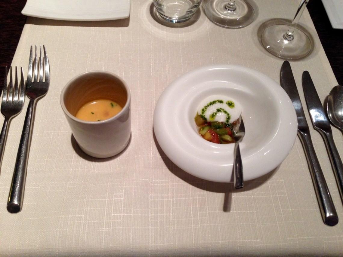 Restaurant Les Trois Petits Bouchons - Mises en bouche