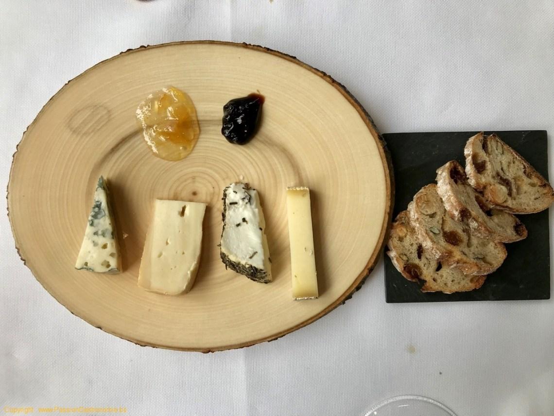 Restaurant Maxime Colin - Composition de fromages de Luc Vandenhaute