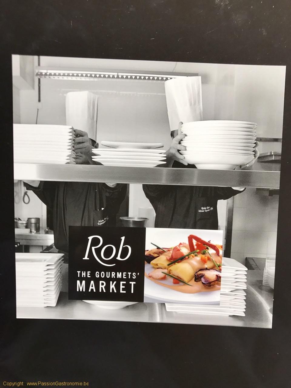 Restaurant Rob - Le logo