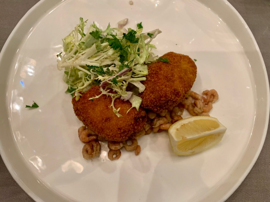 Restaurant Tribeca - Croquettes de crevettes