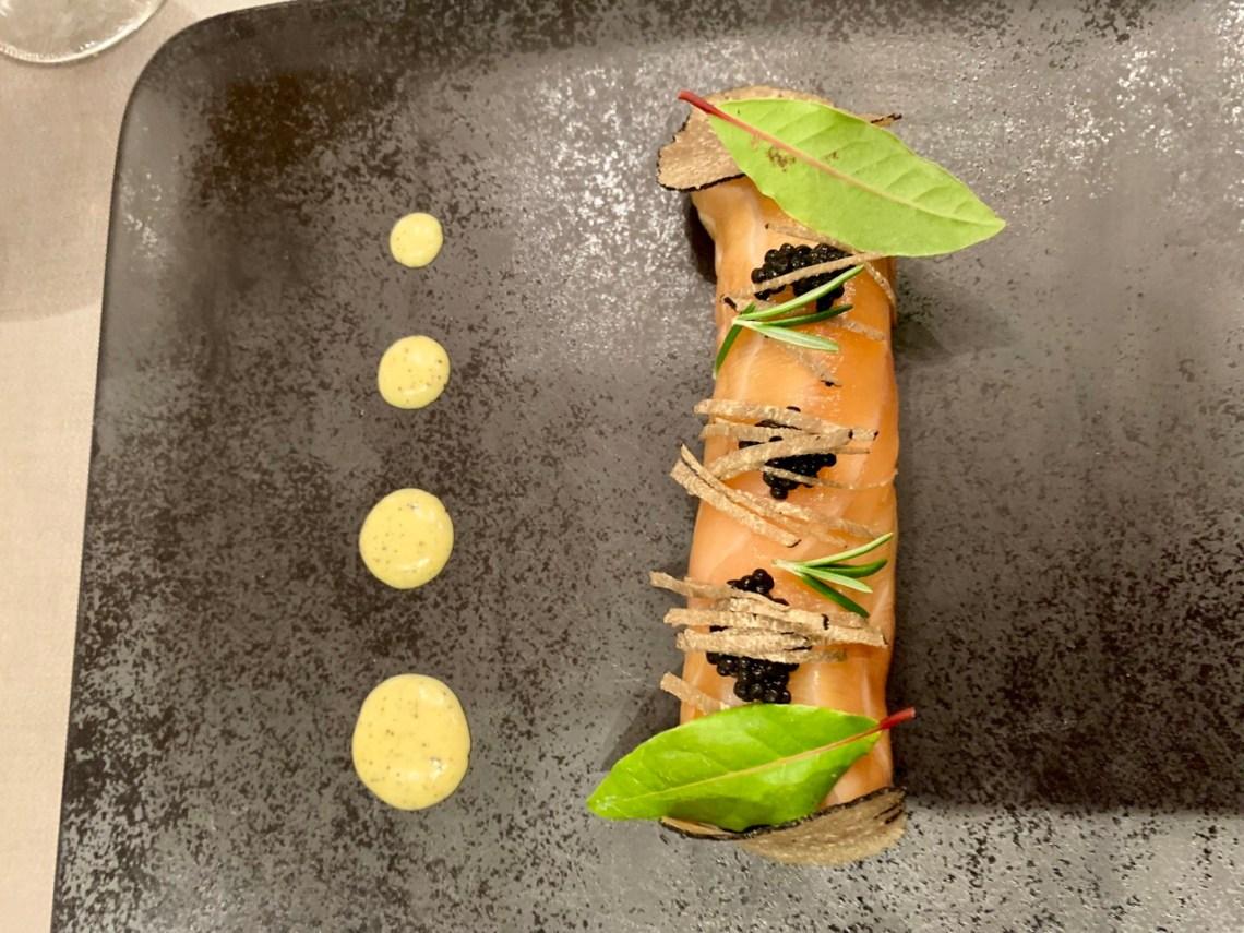 Restaurant Tribeca - Roulade de saumon fumé
