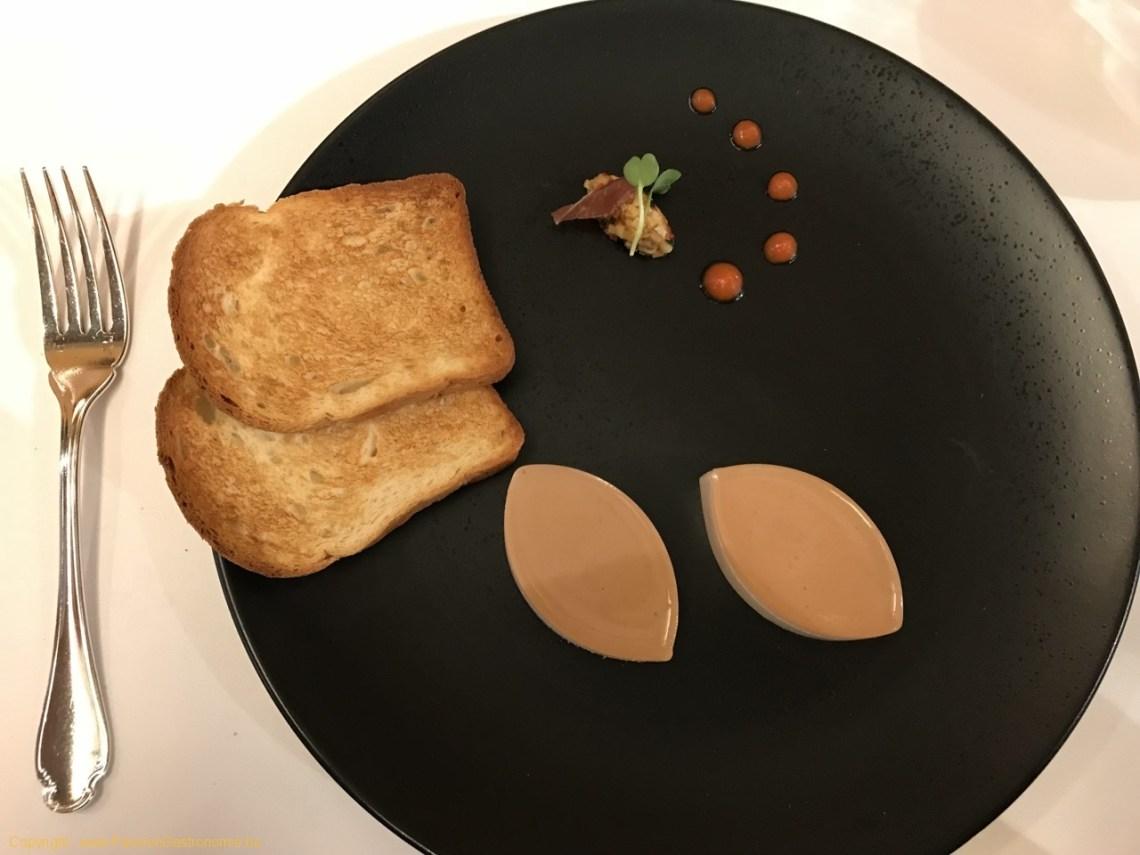 Restaurant Comme Chez Soi - Mousse de jambon