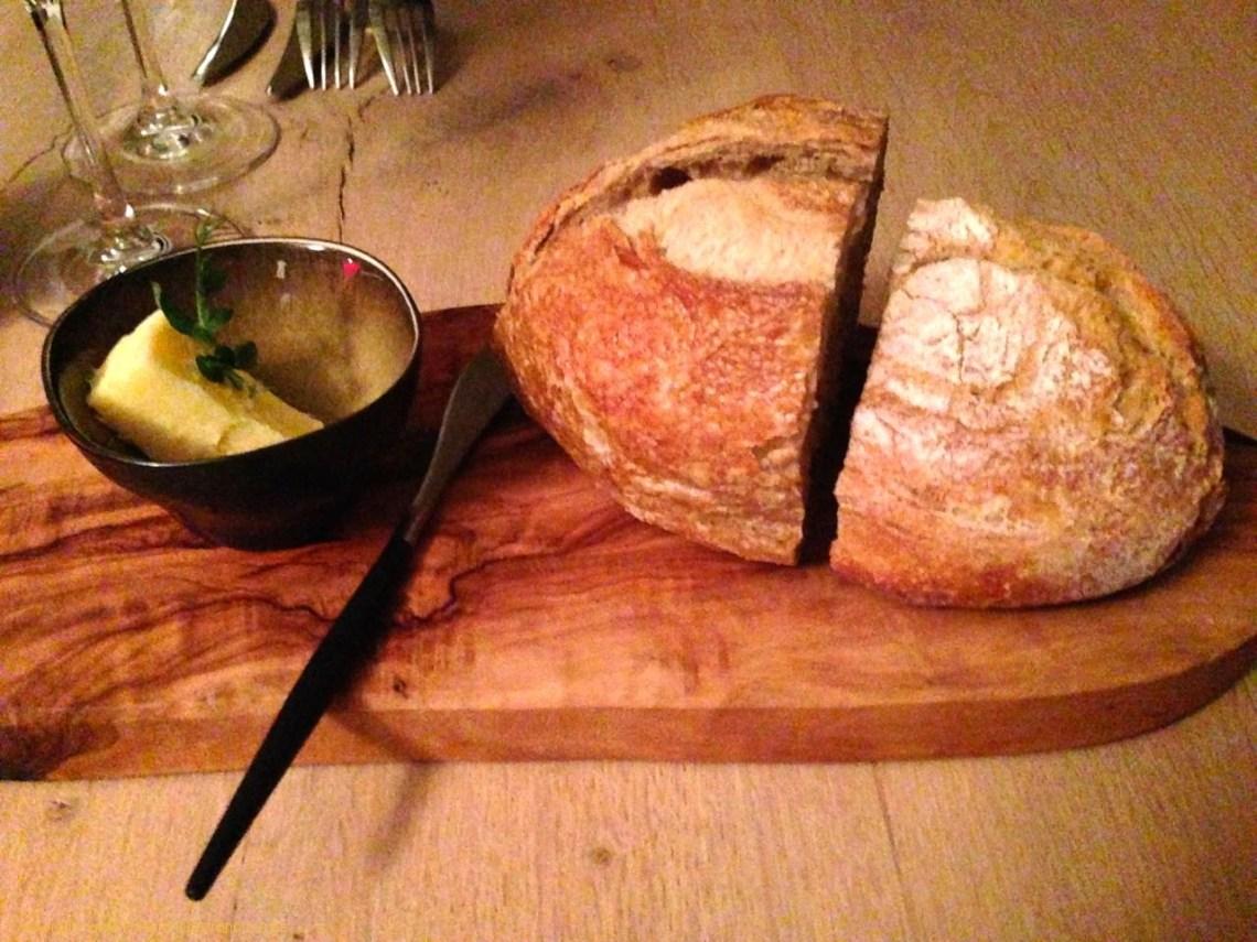 Restaurant Uppkok à Namur : Pain et beurre