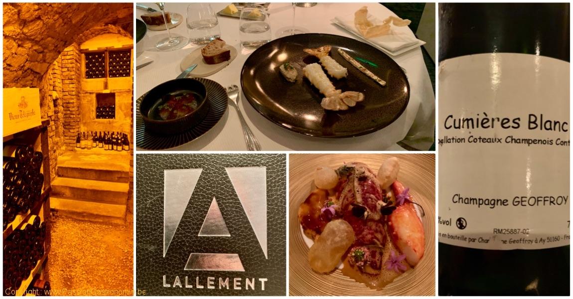 France – Reims – L'Assiette Champenoise – 3* Michelin – 19/20 au Gault & Millau