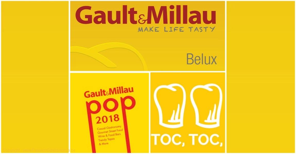 Guide des restaurants Gault & Millau Belgique 2019