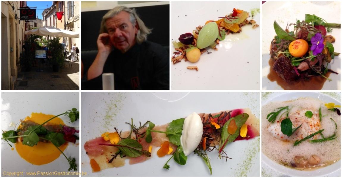 France – Arles – Restaurant L'Atelier de Jean-Luc Rabanel – 2 * Michelin et 19/20 au Gault & Millau