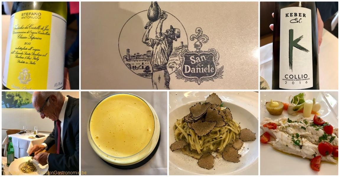 Restaurant San Daniele par la famille Spinelli à Ganshoren