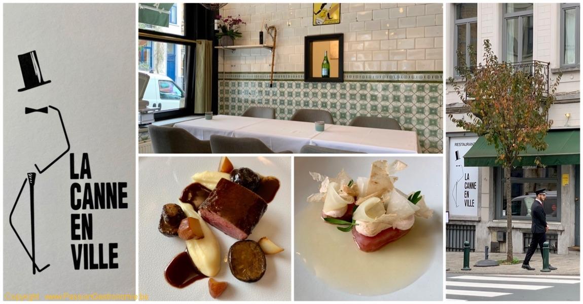 Restaurant La Canne en Ville par Kevin Lejeune à Bruxelles