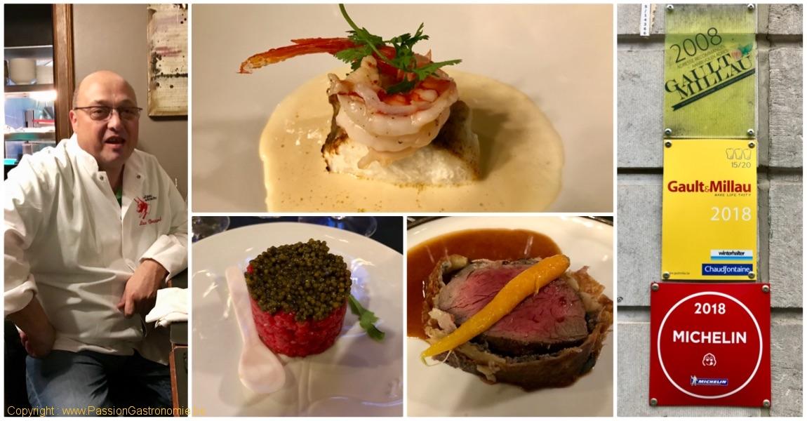 Restaurant La Table du Boucher par Luc Broutard à Mons