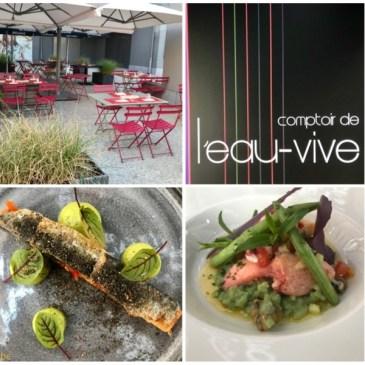 Restaurant Le Comptoir de L'Eau-Vive à Erpent (Namur)