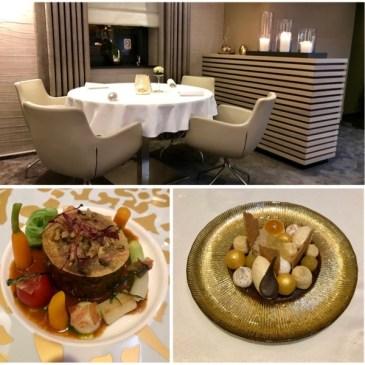 Restaurant Quadras à Saint-Vith par la cheffe Ricarda Grommes.