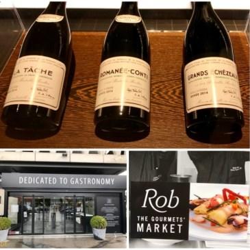 Restaurant (et magasin de luxe) Rob à Bruxelles