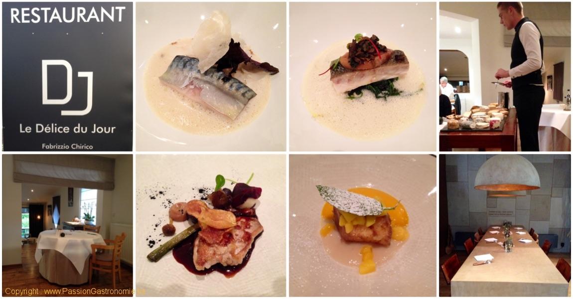 Restaurant Le délice du jour à Gerpinnes par Fabrizzio Chirico