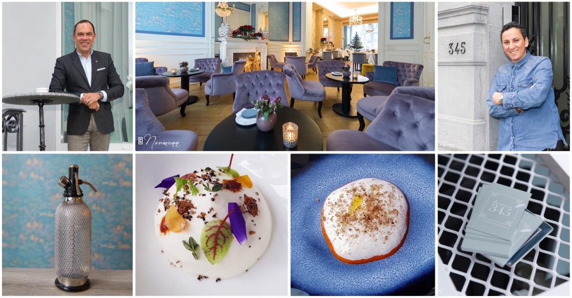 Restaurant Louise 345 par Isabelle Arpin à Bruxelles