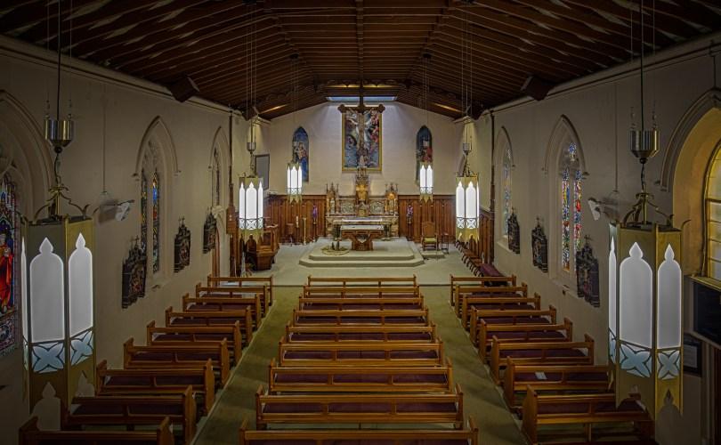 Interior from choir loft
