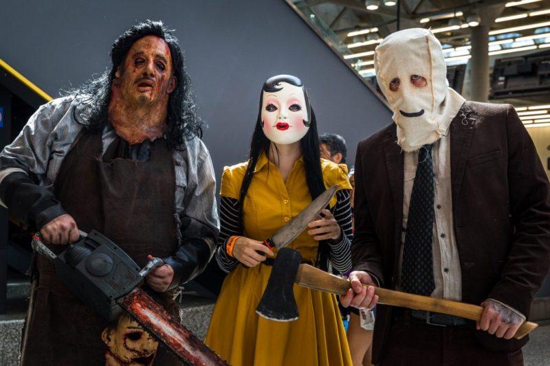Comiccon de Montréal, The Strangers costumes, The Stangers movie, Palais des congrès