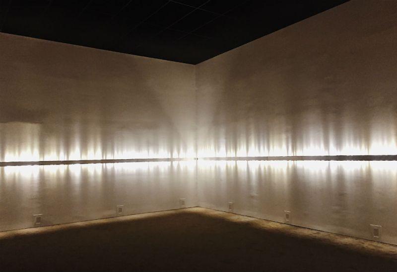Présence instable de Rafael Lozano-Hemmer au Musée d'art contemporain de Montréal / crédit photo : Cindy Dormoy