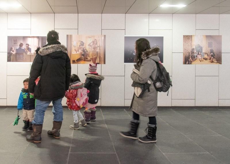 photo festival Pierre-Luc Daoust visiteurs Montréal
