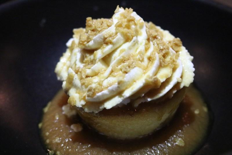 Cupcake poire menu Cabane à sucre au Verses bistro