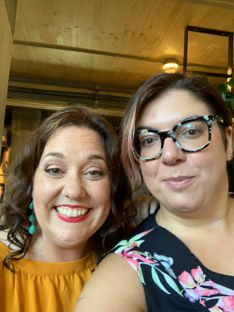 Nancy Bordeleau et Stéphanie Alcaraz C'est l'heure du lunch
