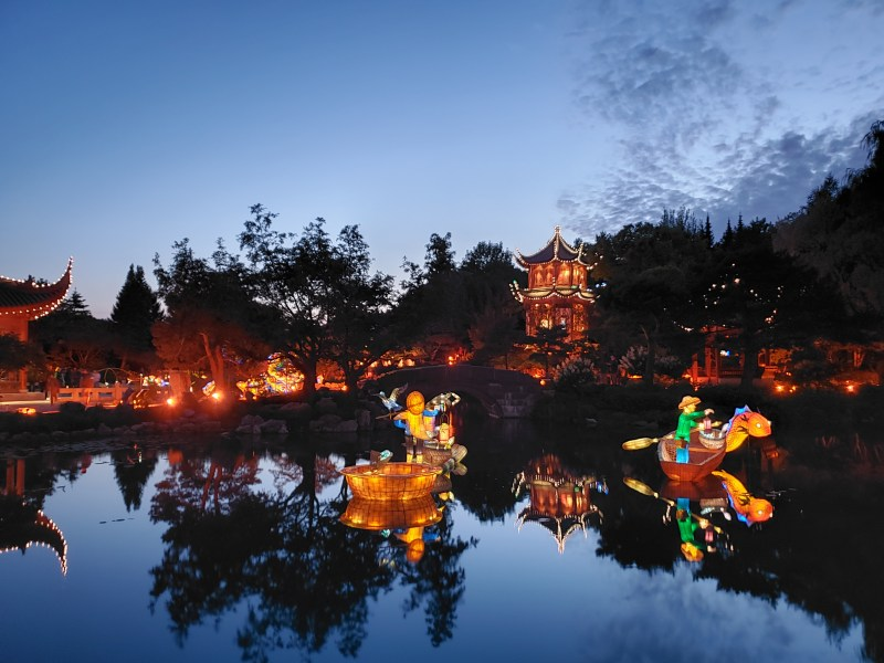 Jardins de lumière au Jardin de Chine
