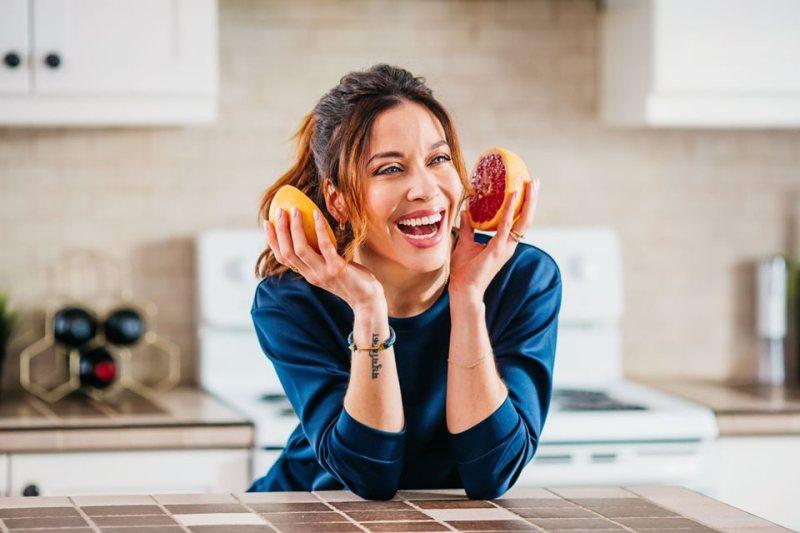 Cajou cuisine avec Abeille Gélinas pamplemousse rose