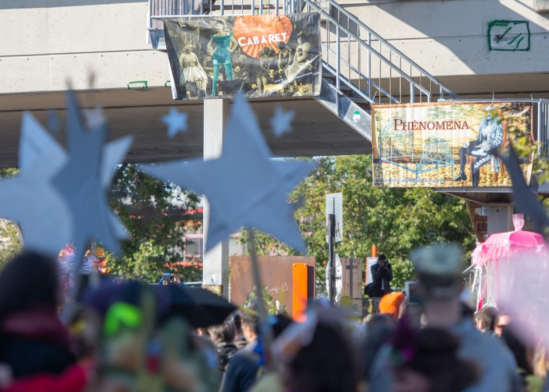 Parade Phénoménale rues Mile-End étoile