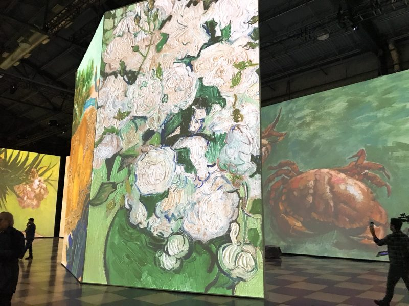 Imagine Van Gogh fleurs peintre