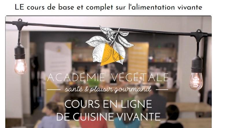 Cours en ligne de cuisine vivante
