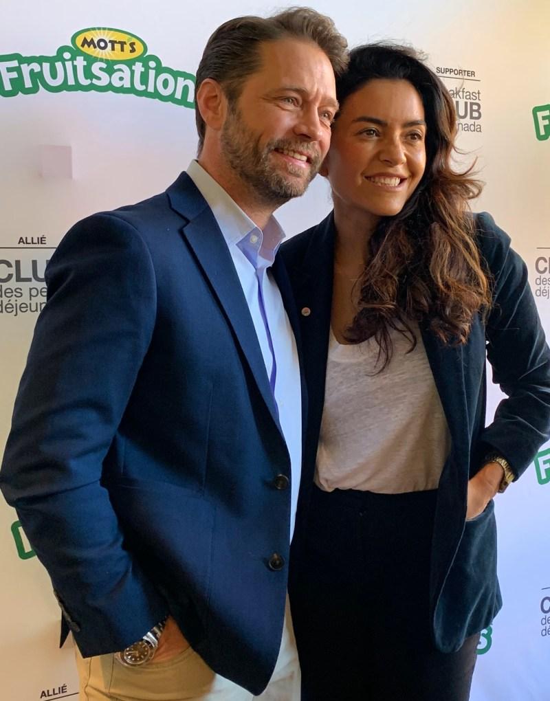 Jason Priestley et Alexandra Diaz Mott's Fruitsations