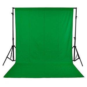 Andoer Toile de fond non tissée pour studio photo Vert 1,6 x 3 m (#12)