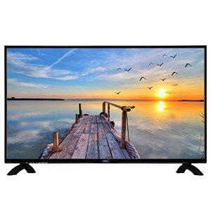 HKC 32C9A 32pouces Téléviseur LED (80cm) (HD Ready, triple tuner, T2/t/c DVB/S2/S, H.265, CI +, Mediaplayer HEVC via USB) [Classe d'efficacité énergétique A] [Classe énergétique A]