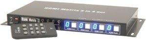 2:4 HDMI Matrix