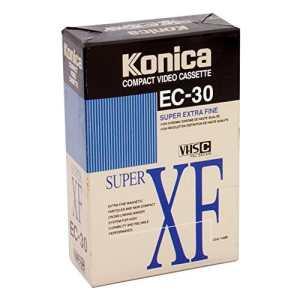 Cassette VHS C Super XF EC 30 KONICA