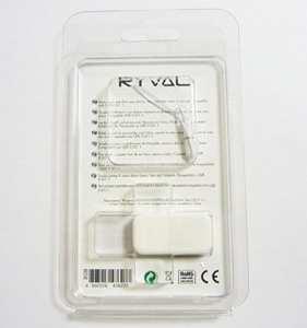RYVAL Clé USB 2.0 8Gb FUN Modèle SOFTIE SHOE Blanc