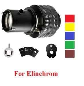Rocwing Snoot pour Flash stroboscopique optique couleur fond de Carte à effet Elinchrom