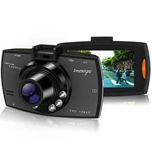 Auto Dash Cam Mini Full HD 1080P Caméra Embarquée Voiture (Noir profond)