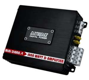 Earthquake Sound MiNi-D1000.4 1000W 4-Channel Full Range Amplifier