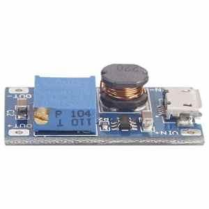 Febelle 2A USB Booster Tableau DC-DC Step-Up Module 2/24V Boost vers 5/9/12/28V réglable Mini