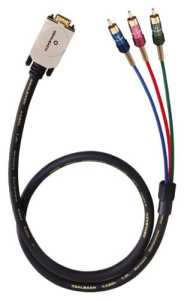 Oehlbach 2365 Câble vidéo composante YUV 1m