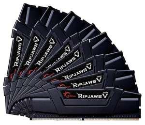 G.Skill 64GB DDR4-3200 64Go DDR4 3200MHz module de mémoire – Modules de mémoire (64 Go, 8 x 8 Go, DDR4, 3200 MHz, 288-pin DIMM)