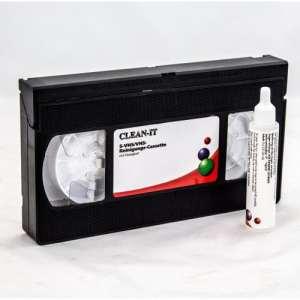 XTC R de cassette de nettoyage VHS S-VHS/pour vidéo VHS