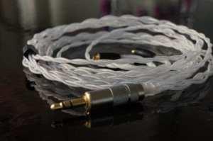 Effet Audio Studio «Thor Silver» câble de remplacement mise à niveau pour Shure Se846SE535SE425SE315SE215Ue900