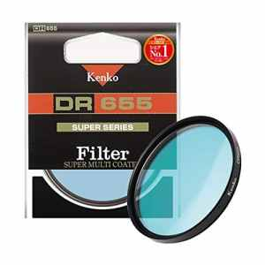 Kenko 58mm DR655 Infrared camera filter 58mm – filtres pour appareils photo (5,8 cm, Infrared camera filter, Multi Resistant Coating (MRC), 1 pièce(s))
