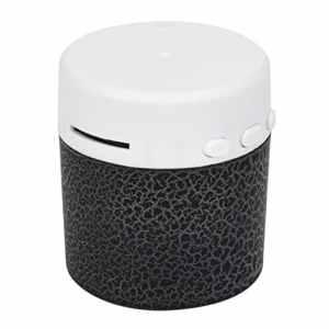 senwu Haut-parleur portable Mini Basse stéréo Lecteur de musique sans fil TF haut-parleur noir