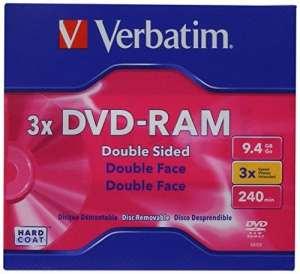 Verbatim DVD-RAM 9.4GB 3X