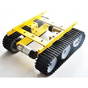 Calli T100 wifi diy châssis de char smart voiture robot en aluminium intelligent pour Arduino